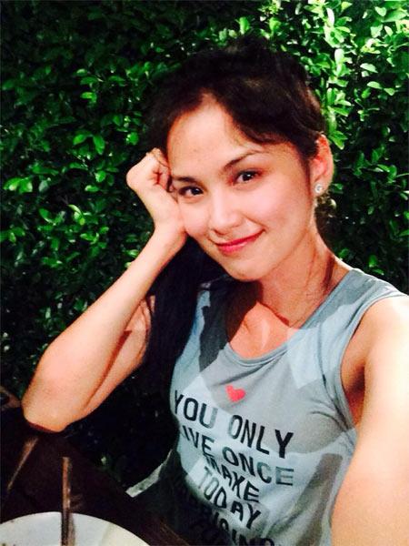 Hoa hậu Diễm Hương say xỉn khi đi nhậu-1