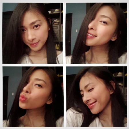 Hoa hậu Diễm Hương say xỉn khi đi nhậu-6