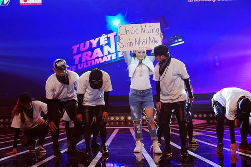 Trà My Idol nhảy tung sân Tuyệt đỉnh tranh tài-1