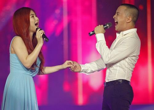 """Cao Thái Sơn """"vượt mặt"""" Bảo Thy nhờ hát live tốt-9"""