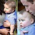 Làng sao - Hoàng tử nhí nhăn nhó trên tay mẹ