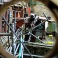 Tin tức - HN: Đường ống nước giăng như tơ nhện