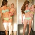Bà bầu - Phục mẹ 3 tuần giảm 13kg sau sinh
