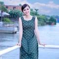 Làng sao - HH Diễm Hương đẹp rạng ngời sau ly hôn