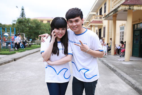 truong phuong bat ngo… khoe con - 1
