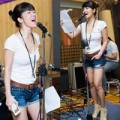 Làng sao - Diva Hồng Nhung trẻ trung như gái đôi mươi