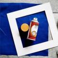 Nhà đẹp - Chế khung ảnh siêu đơn giản bằng vải