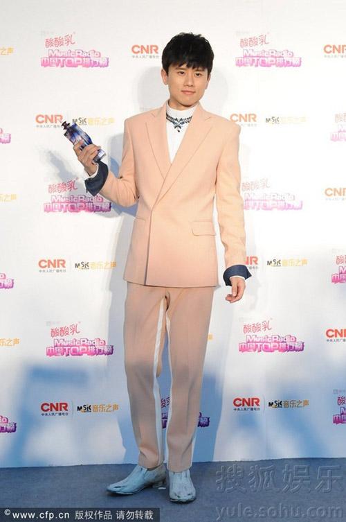 sao cbiz toa sang tai music radio awards 2014 - 11