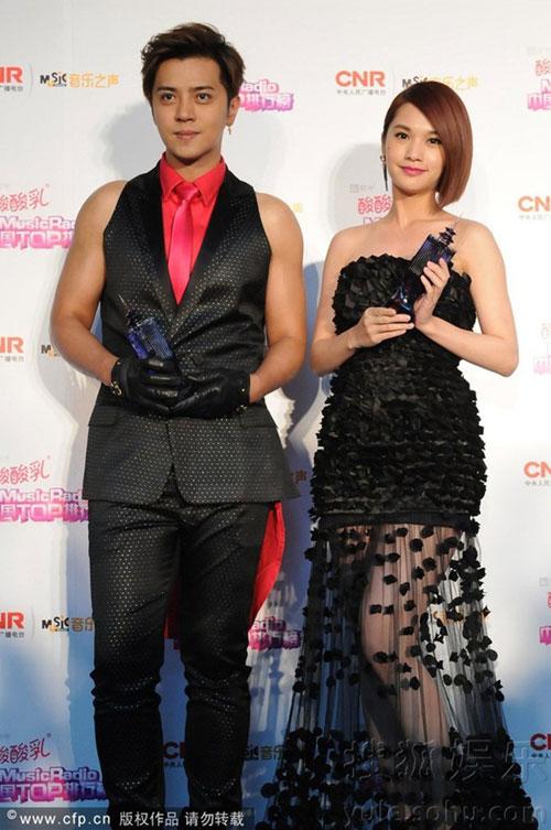 sao cbiz toa sang tai music radio awards 2014 - 3