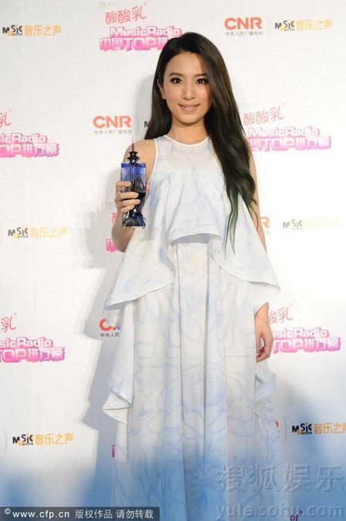 sao cbiz toa sang tai music radio awards 2014 - 4