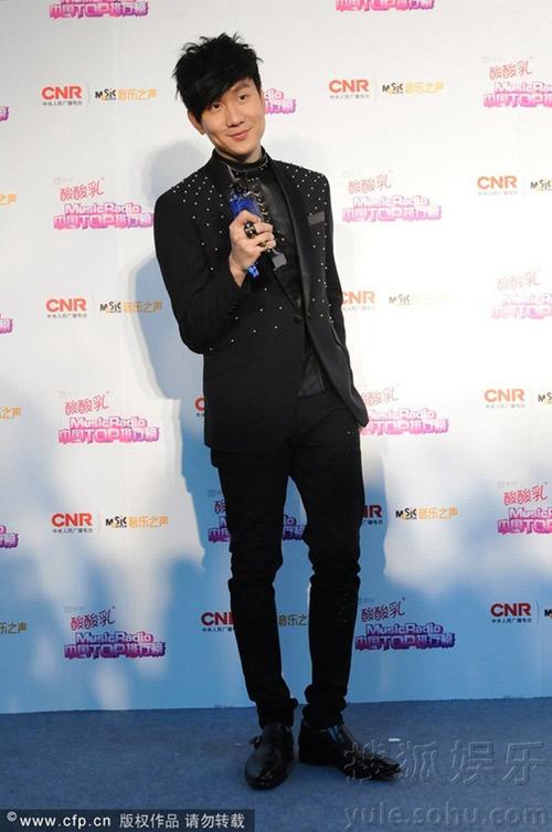 sao cbiz toa sang tai music radio awards 2014 - 9