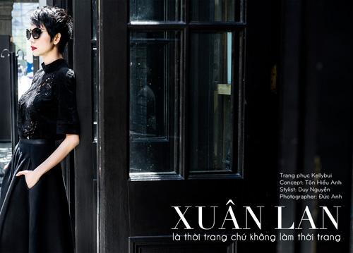 xuan lan lam dao dien catwalk tai thuong hai - 5