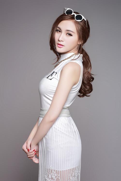 """hot girl kelly rang ngoi ve dep """"dao keo"""" - 10"""