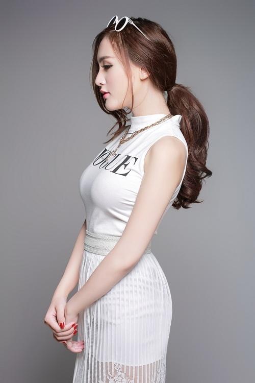"""hot girl kelly rang ngoi ve dep """"dao keo"""" - 11"""
