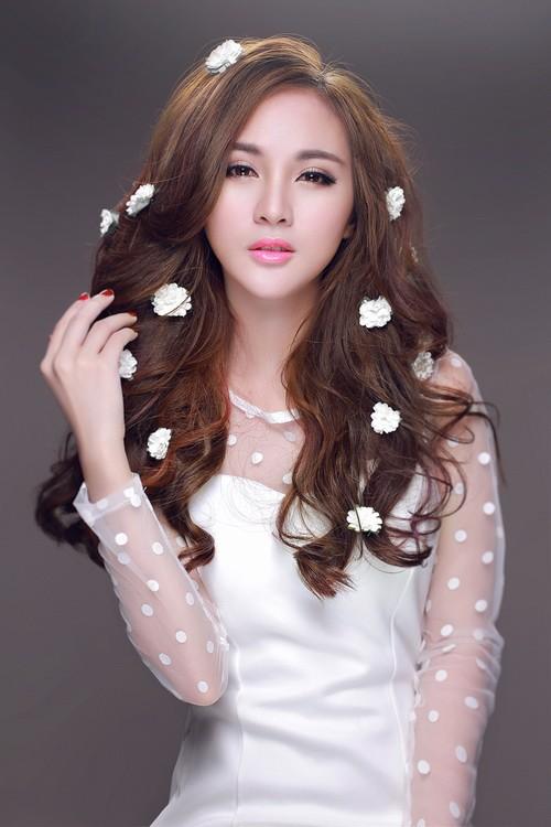 """hot girl kelly rang ngoi ve dep """"dao keo"""" - 3"""