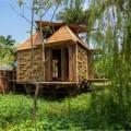 Nhà đẹp - Nhà tre chịu lụt giá 50 triệu ở Hà Nội