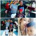 Làng sao - Gia đình Hà Kiều Anh hạnh phúc trên đất Thái