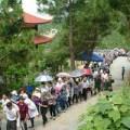 Hơn 40.000 người viếng mộ Đại tướng Võ Nguyên Giáp