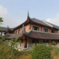 Nhà đẹp - Nhà khách 5 sao toàn gỗ quý ở chùa Bái Đính
