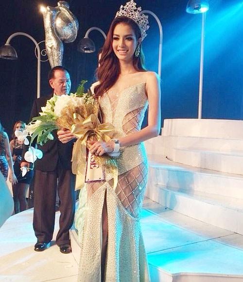 nhan sac ngot ngao cua nu hoang chuyen gioi thai lan 2014 - 2
