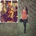 Làng sao - Hồ Ngọc Hà tinh nghịch đạp xe trên phố