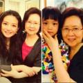 Làng sao - Triệu Vy đưa chồng con đến thăm Quỳnh Dao