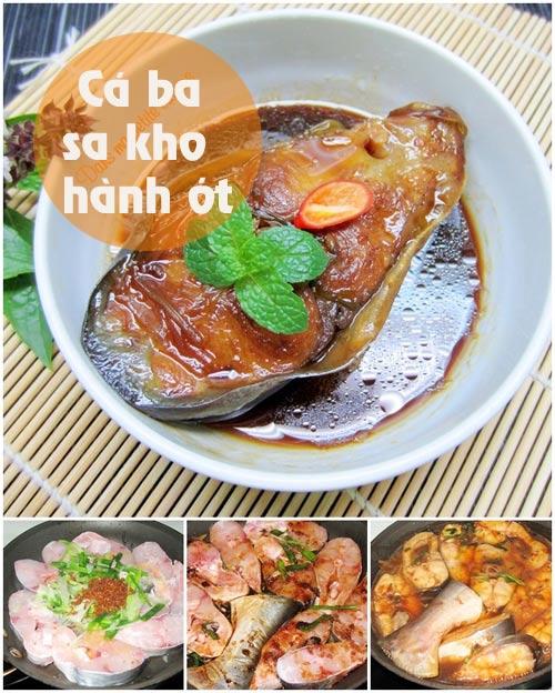 thuc don: ca kho, canh thien ly - 1