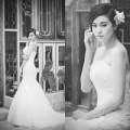 Làng sao - Trương Quỳnh Anh diện váy cưới làm cô dâu