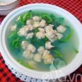 Bếp Eva - Chiều nấu canh ngao mồng tơi cho mát