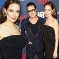 Làng sao - Angelina Jolie lộ gương mặt loang lổ phấn
