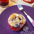 Bếp Eva - Bánh muffin dâu tằm đầy hấp dẫn