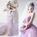 Thời trang - Siêu mẫu Khánh Ngọc diện áo cưới kiêu sa