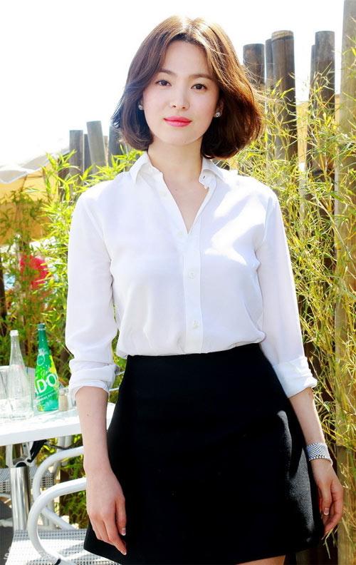 song hye kyo vay ngan gian di tai cannes - 1