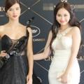 Làng sao - Kim Hiền - Kim Tuyến đọ vẻ sang trọng tại Pháp