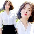 Làng sao - Song Hye Kyo váy ngắn giản dị tại Cannes