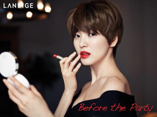song hye kyo - nang tho tren tap chi elle - 4
