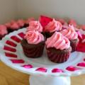Bếp Eva - Cách làm cupcake hương dâu tây