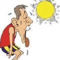 Sức khỏe - Cách phân biệt say nắng, cháy nắng, mất nước trong mùa hè