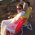 Làng sao - Vợ chồng Lam Trường lãng mạn ở Hawaii