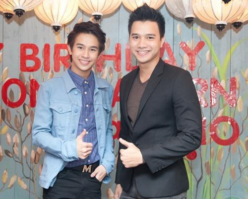 Yến Trang gợi cảm bên hot boy phim đồng tính Thái-10