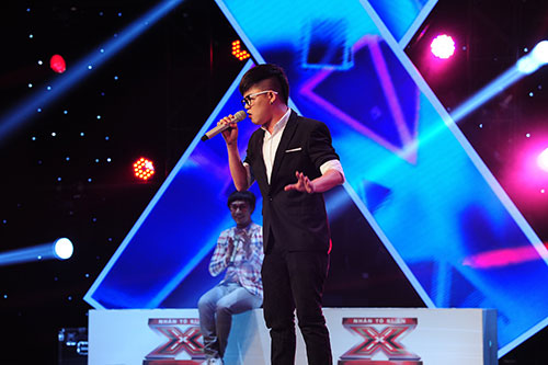 "x-factor: f-band gay ""sot"" voi chuon chuon ot - 3"