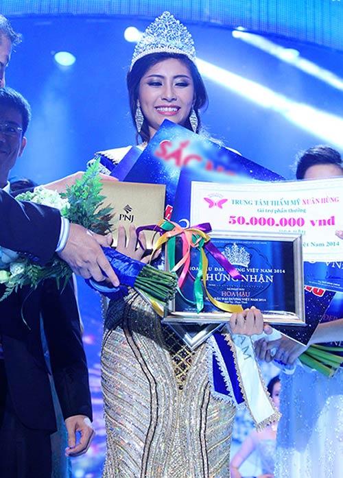 Đặng Thu Thảo là Hoa hậu Đại Dương Việt Nam - 2