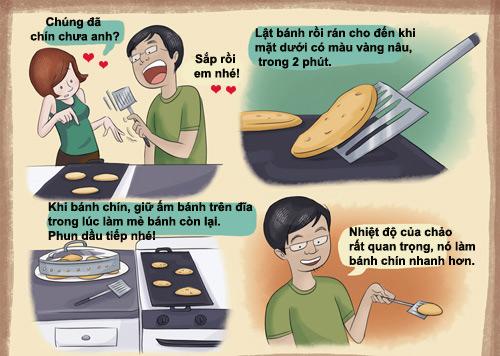 Tự làm bánh pancake chay cực dễ-4
