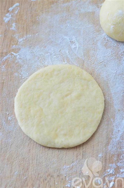 Bánh mì hình hoa dừa thơm ngon, đẹp mắt-5
