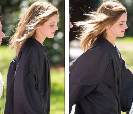 Emma Watson đẹp như tranh ở lễ tốt nghiệp-10