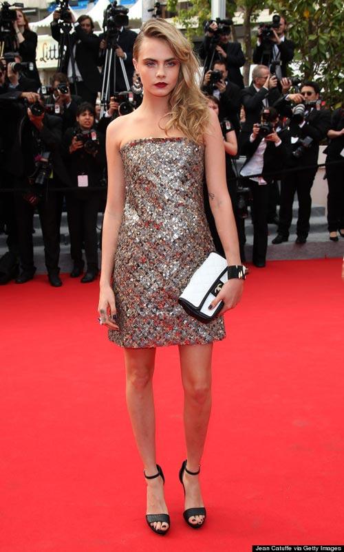 """20 bộ đầm đẹp """"nghẹt thở"""" tại Cannes 2014 - 1"""