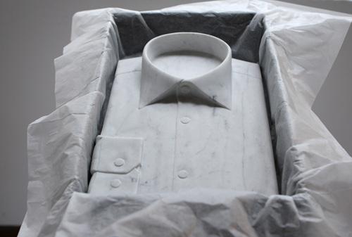Sửng sốt váy áo siêu mềm làm từ... đá - 13