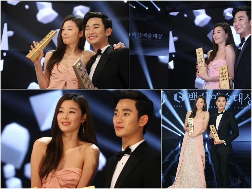 jeon ji hyun gianh giai deasang tai beaksang - 1