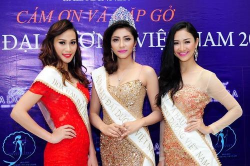 Hoa hậu Đại dương phủ nhận nghi án mua giải - 8