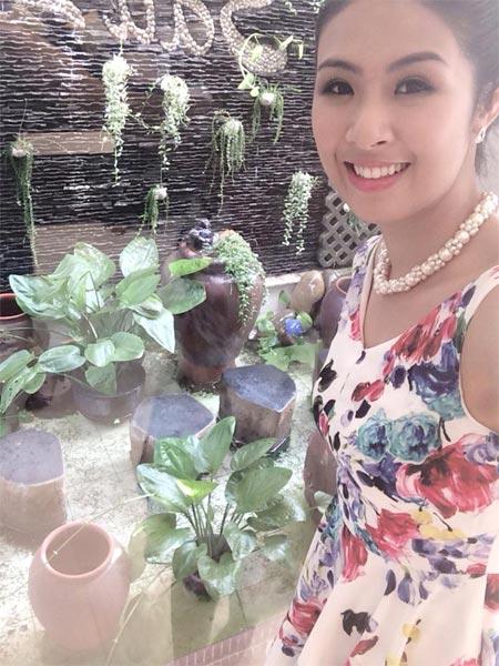Hoa hậu Diễm Hương nhập viện vì sốt cao - 6